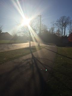 Friday at 4:30. 72 degrees and sunny