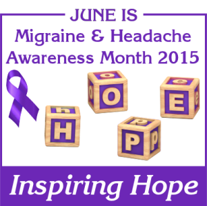 #migraine and #headache awareness month