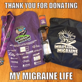 miles for migraine swag