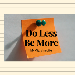 less doing more being