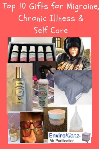 Top gifts for Migraine, Chronic Illness and those in need of Self Care. (1)